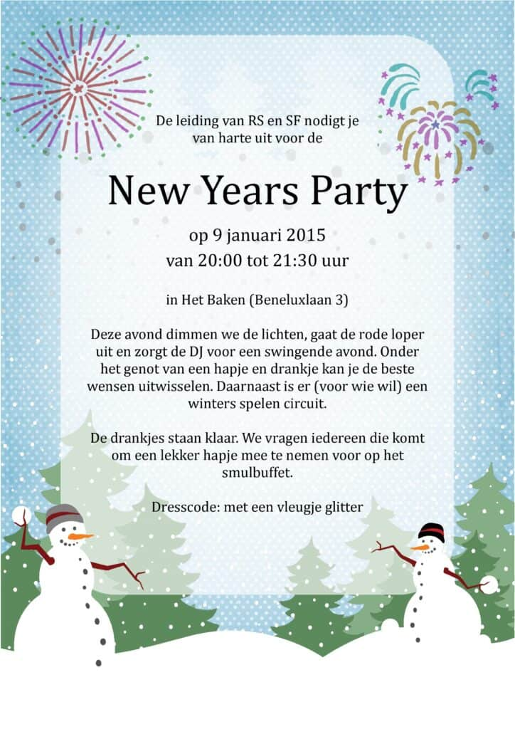 New Years Party
